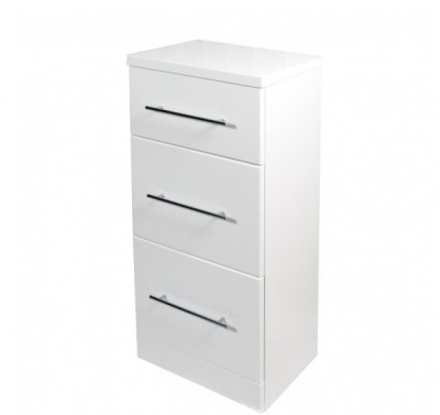 White Compact F3 Drawer Unit - VE81