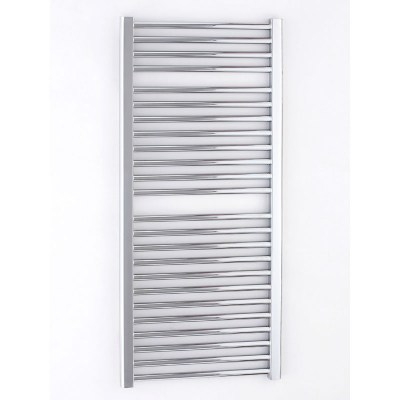 Essential straight chrome towel warmer